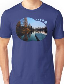 Romantic evening at the lake VI | waterscape photography Unisex T-Shirt