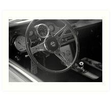 """Mustang GT 500 """"Eleanor"""" Art Print"""