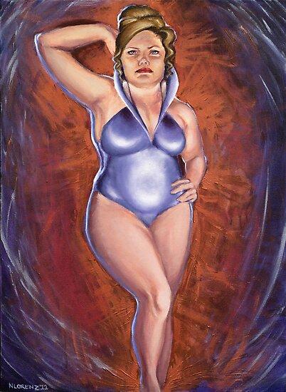 Future Beauty - Natcon 50 Art Show Piece by Nancy Lorenz