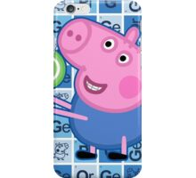 George Pig iPhone Case/Skin