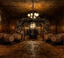 Karma Winery Cave by Brad Granger