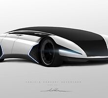 Concept Vehicle Seventeen by Aaron Luke Wilson