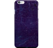 USGS Topo Map Oregon Pinhead Buttes 281101 1986 24000 Inverted iPhone Case/Skin
