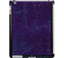 USGS Topo Map Oregon Pinhead Buttes 281101 1986 24000 Inverted iPad Case/Skin