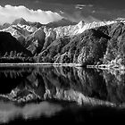 Lake Matheson, New Zealand by Andrew Dickman