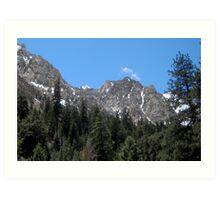 Superb Sierras Art Print