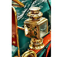 1910 Hupmobile, Lamp Photographic Print