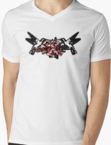 Hummingbird Harmony Mens V-Neck T-Shirt