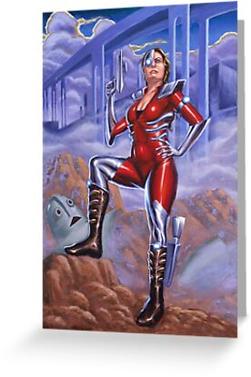 Our Future Hero - Natcon 50 Future Imperfect Piece by Nancy Lorenz