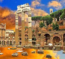 Temple of Venus Genetrix . Rome by terezadelpilar~ art & architecture