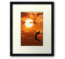 The transit of Venus Framed Print