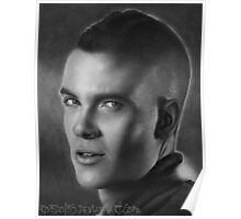 Mark Salling - Puck from Glee Poster