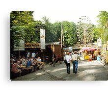 Annafest in Forchheim, Germany, 2003. Canvas Print