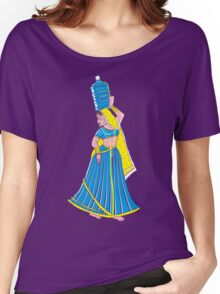 Indian Paniharin Women's Relaxed Fit T-Shirt