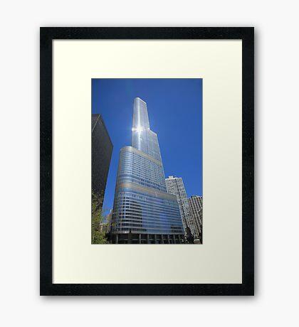 Chicago Skyscraper Framed Print