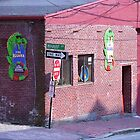 Portland, Maine - Wharf Street by Frank Romeo