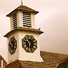 Old Clock Tower by LadyFi