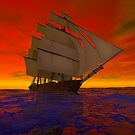 Sailing into the Sunset by Carol and Mike Werner