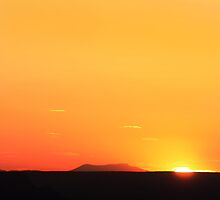 Grand Canyon Sunset In May by Jem Wright