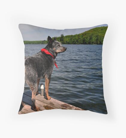 The Edge of the Water Throw Pillow