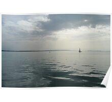 grey lake Poster