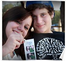 She makes him Smile..... 8-))))) Poster