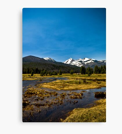 All Is Calm - Rocky Mountain National Park Canvas Print