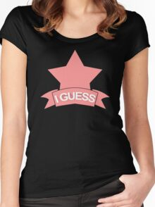 Okay I Guess Women's Fitted Scoop T-Shirt