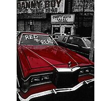 Red & Ready Photographic Print