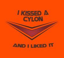 I Kissed a Cylon Kids Clothes