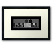 Spheres in Cubes #1 Framed Print
