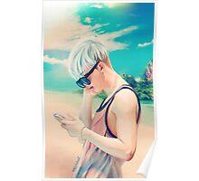 beach joon Poster