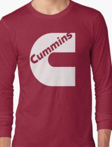 CUMMINS WHITE Long Sleeve T-Shirt