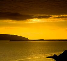 Lochbay sunset Skye by butty61