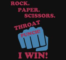 Rock Paper Scissors by FivefeeShirt75