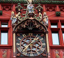 clock in basel by milena boeva