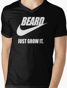Beard - Just Grow It Mens V-Neck T-Shirt