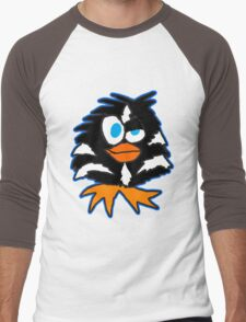 Evil Penguin Men's Baseball ¾ T-Shirt