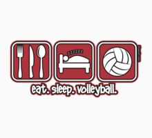 Eat. Sleep. Volleyball. by Kowulz