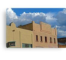 Plaza Building in Las Vegas, New Mexico 6 Canvas Print