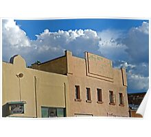 Plaza Building in Las Vegas, New Mexico 6 Poster