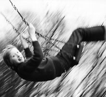 Swinging in the Park by Harry Purves