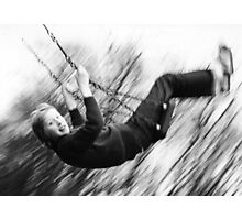 Swinging in the Park Photographic Print