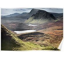 Quiraing - Cleat & Loch Cleat Poster