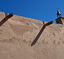 Adobe Church 3, Truchas, NewMexico by VoxOrpheus