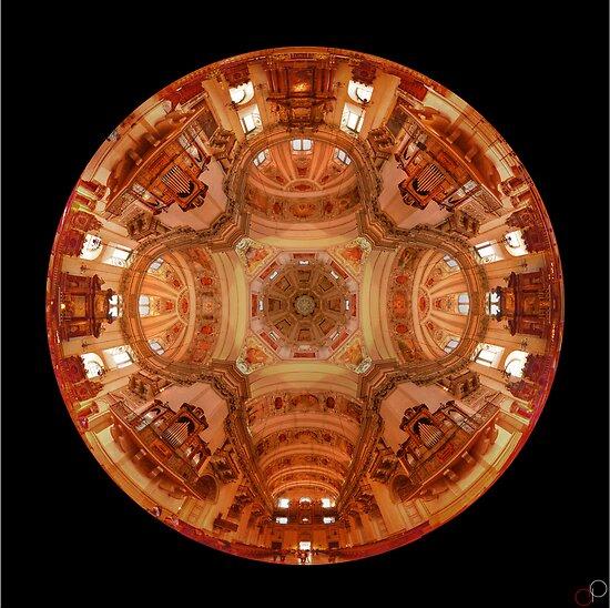 Salzburg Cathedral - 360 HDR - 24 shot Vertorama by Luke Griffin