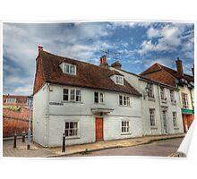 Little Minster Street- Winchester Poster