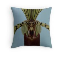Proud Orchid Throw Pillow