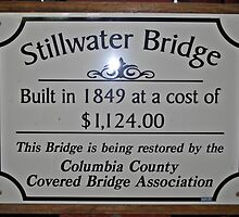 "Stillwater Sign by Scott ""Bubba"" Brookshire"