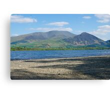 Skiddaw, The Lake District Canvas Print